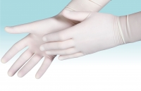 Перчатки стерильные смотровые НЕопудренные латексные , длина 230-250 мм , с валиком AQL 1,0