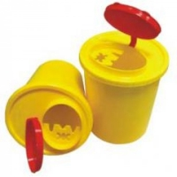 Емкость-контейнер д/острого инструмент. ЕК-01 1 литр
