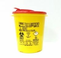 Емкость-контейнер для утилизации иголок 3 л