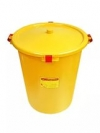Бак д/утилизации отходов ЛПУ (класс А) - 50 литров