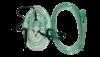Маска кислородная взрослая с трубкой 2м L