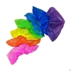 Бахилы п/эт текстур.  Цельная резинка 2,0 гр (цветные) текстурированные