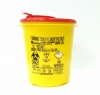 Емкость-контейнер для утилизации иголок 0,7 л